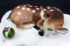 George's Fondant Art  Deer Bamby