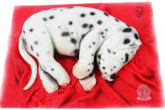 George's Fondant Art Doggy Cake
