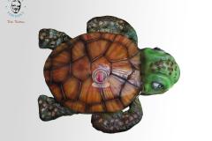 George's Fondant Art Turtle Cake